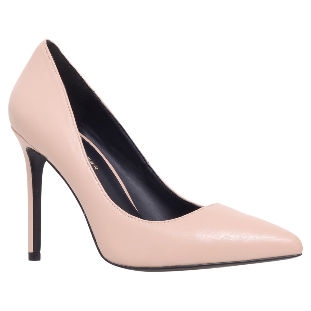 Bailey Pointed Court Shoes - predominant colour: nude; occasions: evening, occasion, creative work; material: leather; heel height: high; heel: stiletto; toe: pointed toe; style: courts; finish: plain; pattern: plain; season: a/w 2013
