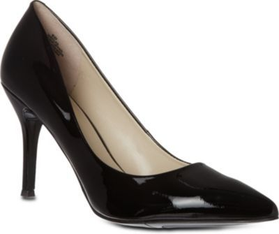 Flax Patent Leather Courts, Women's, Eur 37 / 4 Uk Women, Black - predominant colour: black; occasions: evening, work, occasion, creative work; material: leather; heel height: high; heel: stiletto; toe: pointed toe; style: courts; finish: patent; pattern: plain; season: a/w 2013