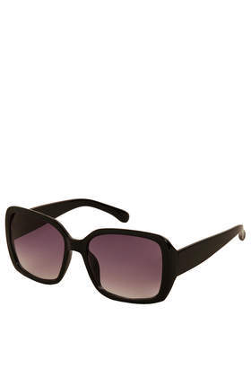 Pammy Square Sunglasses - predominant colour: black; occasions: casual, holiday, creative work; style: square; size: standard; material: plastic/rubber; pattern: plain; finish: plain; season: s/s 2014