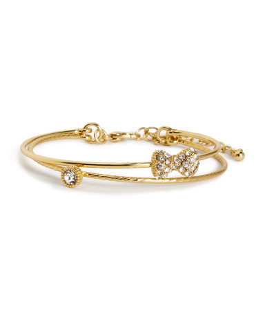 Bracelets - predominant colour: gold; occasions: evening, occasion; style: bangle/standard; size: small/fine; material: chain/metal; finish: metallic; embellishment: crystals/glass; secondary colour: clear; trends: summer sparkle; season: s/s 2014