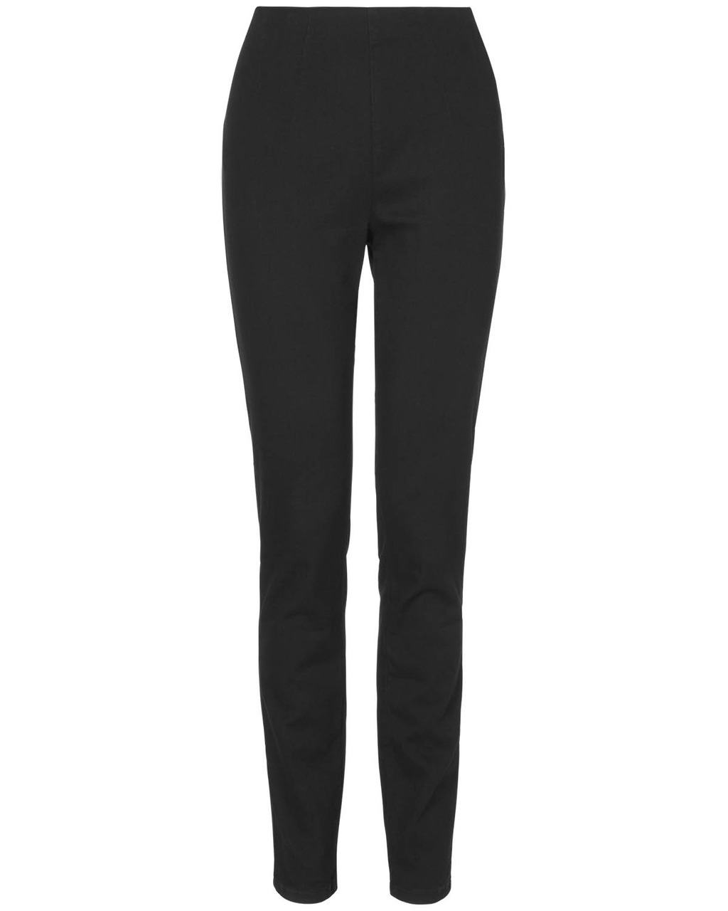 Amina Darted Jegging - length: standard; pattern: plain; style: jeggings; waist: mid/regular rise; predominant colour: black; occasions: casual, evening, creative work; fibres: cotton - stretch; texture group: denim; pattern type: fabric; season: s/s 2014