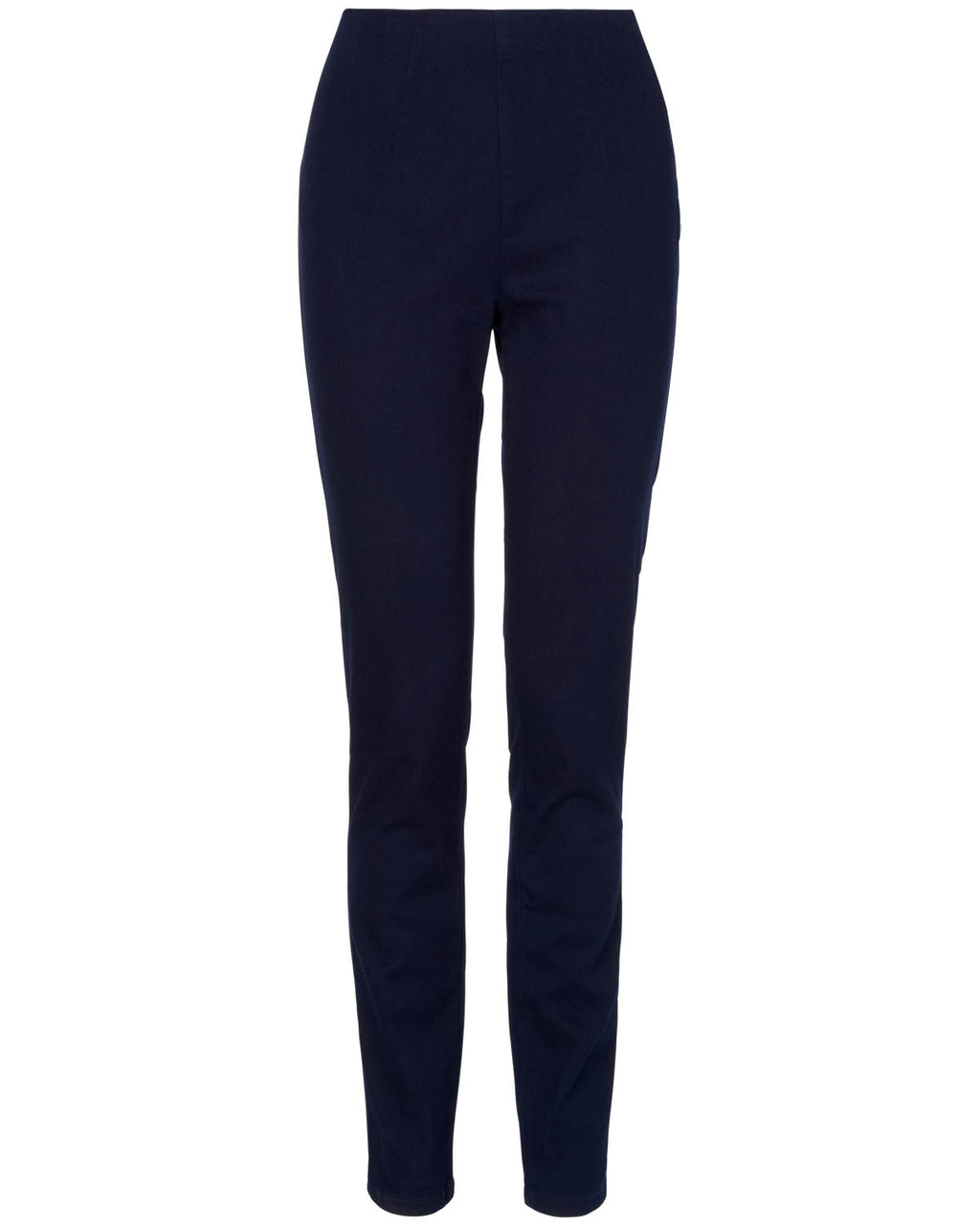 Amina Darted Jegging - length: standard; pattern: plain; style: jeggings; waist: mid/regular rise; predominant colour: navy; occasions: casual, evening, creative work; fibres: cotton - stretch; jeans detail: dark wash; texture group: denim; season: s/s 2014