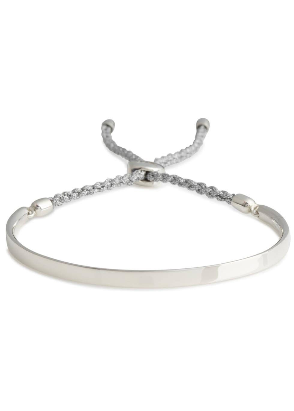 Fiji Sterling Silver Bracelet - predominant colour: silver; occasions: casual, creative work; style: friendship/tie; size: standard; material: chain/metal; finish: metallic; season: s/s 2014