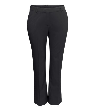 + Suit Trousers - length: standard; pattern: plain; waist: mid/regular rise; predominant colour: black; occasions: evening, work, creative work; fibres: polyester/polyamide - mix; waist detail: narrow waistband; fit: straight leg; pattern type: fabric; texture group: woven light midweight; style: standard; season: a/w 2014