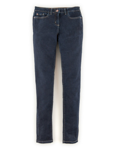 Super Skinny Jeans Indigo Women, Indigo - style: skinny leg; length: standard; pattern: plain; pocket detail: traditional 5 pocket; waist: mid/regular rise; predominant colour: navy; occasions: casual; fibres: cotton - stretch; texture group: denim; pattern type: fabric; season: a/w 2014