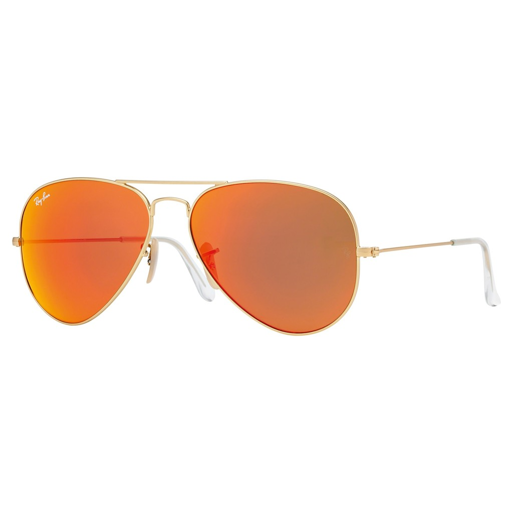 Rb3025 Original Aviator Sunglasses - predominant colour: gold; occasions: casual, holiday; style: aviator; size: standard; material: chain/metal; pattern: plain; finish: metallic; season: a/w 2014