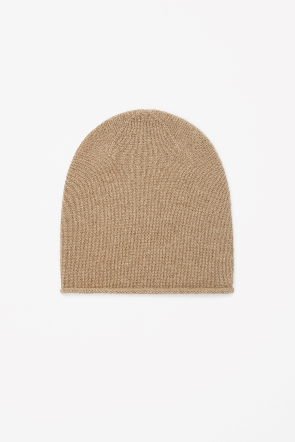 Cashmere Hat - predominant colour: camel; occasions: casual; style: beanie; size: standard; material: knits; pattern: plain; season: a/w 2014