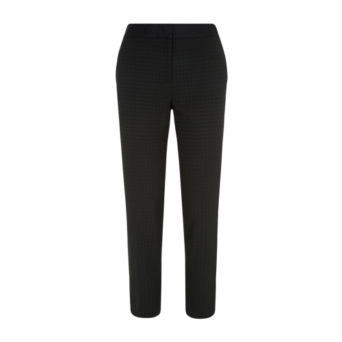 Jackie Trouser - pattern: plain; waist: mid/regular rise; predominant colour: charcoal; occasions: work, creative work; length: ankle length; fibres: polyester/polyamide - 100%; fit: slim leg; pattern type: fabric; texture group: woven light midweight; style: standard; season: a/w 2014