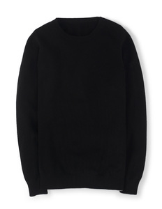 Cashmere Crew Neck Jumper Black Women, Black - pattern: plain; style: standard; predominant colour: black; occasions: casual, creative work; length: standard; fit: standard fit; neckline: crew; fibres: cashmere - 100%; sleeve length: long sleeve; sleeve style: standard; texture group: knits/crochet; pattern type: knitted - fine stitch; season: a/w 2014