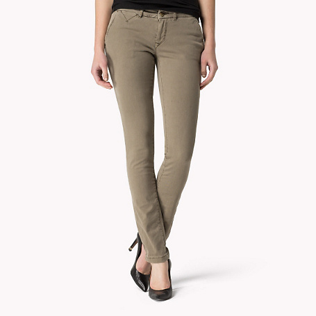 Sena Slim Fit Chino - length: standard; pattern: plain; waist: mid/regular rise; predominant colour: taupe; occasions: casual; style: chino; texture group: cotton feel fabrics; fit: slim leg; pattern type: fabric; season: s/s 2015; wardrobe: basic