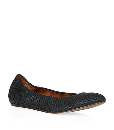 Lancelot Nora Ballet Pumps Black - predominant colour: black; occasions: casual, creative work; material: leather; heel height: flat; toe: round toe; style: ballerinas / pumps; finish: plain; pattern: plain; season: s/s 2015; wardrobe: basic