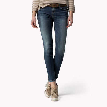 Como Super Skinny Fit Jegging - style: skinny leg; length: standard; pattern: plain; pocket detail: traditional 5 pocket; waist: mid/regular rise; predominant colour: navy; occasions: casual; fibres: cotton - stretch; jeans detail: shading down centre of thigh; texture group: denim; pattern type: fabric; season: s/s 2015