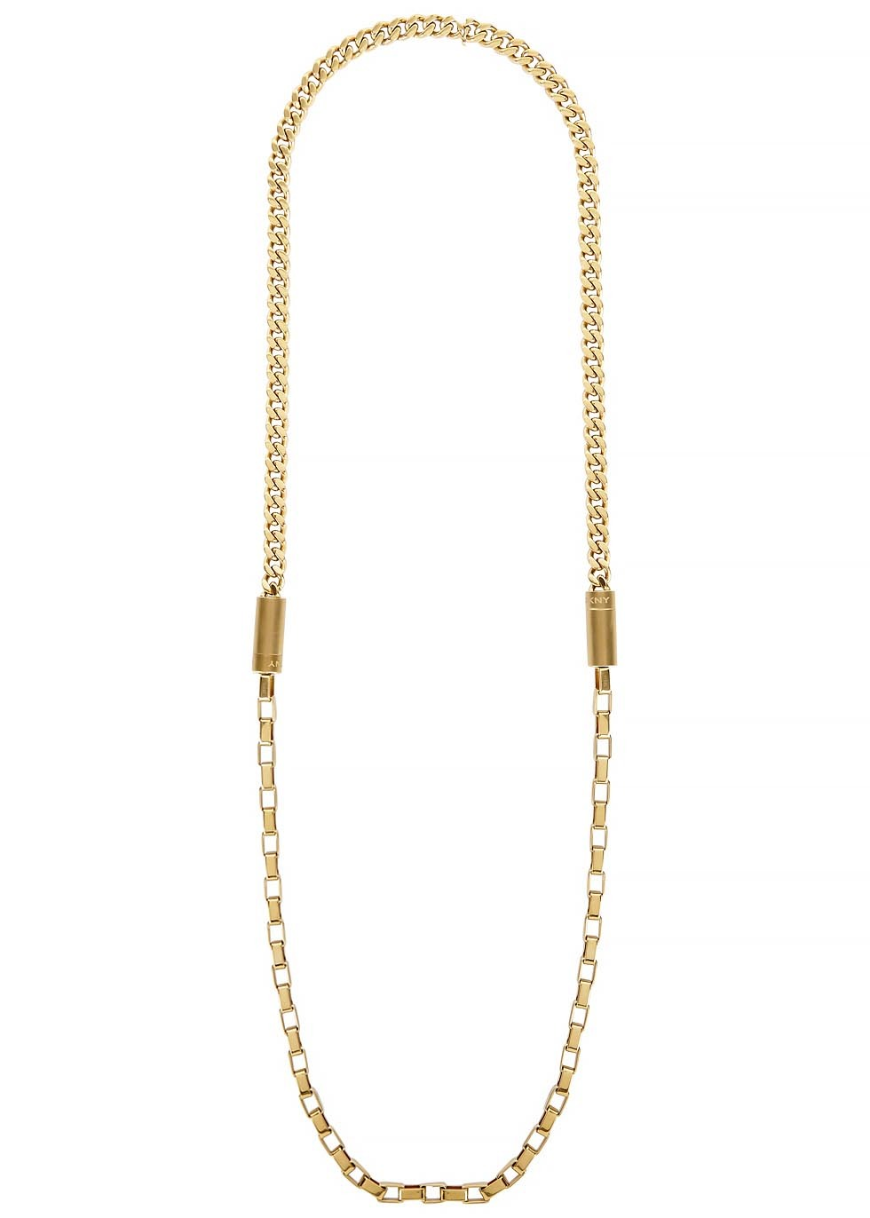 Chambers Gold Tone Necklace - predominant colour: gold; occasions: casual, evening, occasion, creative work; length: long; size: standard; material: chain/metal; finish: metallic; season: s/s 2015; wardrobe: basic; style: chain (no pendant)