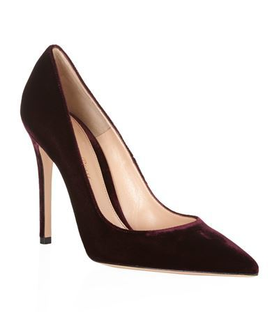 Bari Velvet Court - predominant colour: aubergine; occasions: evening, occasion; material: velvet; heel: stiletto; toe: pointed toe; style: courts; finish: plain; pattern: plain; heel height: very high; season: s/s 2015; wardrobe: event