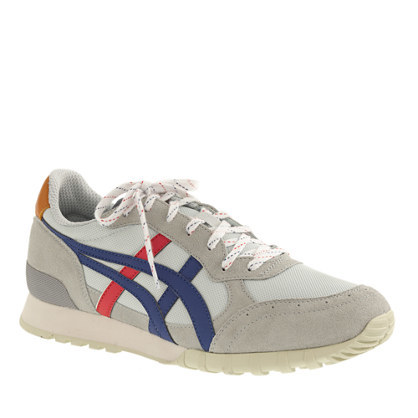 Onitsuka Tiger For Colorado Eighty Five® Sneakers - secondary colour: navy; predominant colour: light grey; occasions: casual, activity; material: fabric; heel height: flat; toe: round toe; style: trainers; finish: plain; pattern: plain; season: s/s 2015