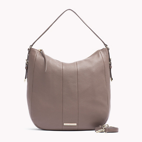Melinda Hobo - predominant colour: taupe; occasions: casual, creative work; length: shoulder (tucks under arm); size: standard; material: leather; pattern: plain; finish: plain; style: hobo; season: s/s 2015; wardrobe: investment