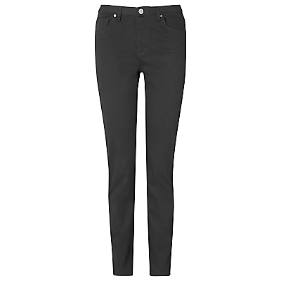 Willow Skinny Jeans, Black - style: skinny leg; length: standard; pattern: plain; pocket detail: traditional 5 pocket; waist: mid/regular rise; predominant colour: black; occasions: casual, evening, creative work; fibres: cotton - stretch; texture group: denim; pattern type: fabric; season: s/s 2015; wardrobe: basic