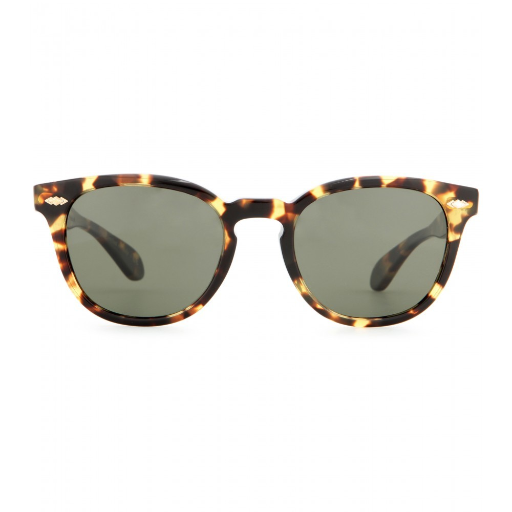 Sheldrake Plus Sunglasses - secondary colour: chocolate brown; predominant colour: camel; occasions: casual, holiday; style: d frame; size: standard; material: plastic/rubber; pattern: tortoiseshell; finish: plain; season: a/w 2015; wardrobe: basic