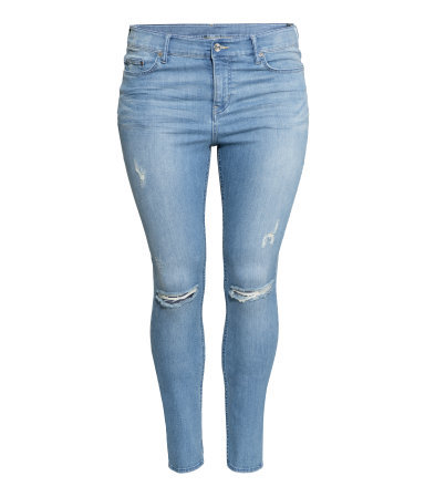 + Slim Regular Jeans - style: skinny leg; pattern: plain; pocket detail: traditional 5 pocket; waist: mid/regular rise; predominant colour: denim; occasions: casual, creative work; length: ankle length; fibres: cotton - stretch; jeans detail: whiskering, rips; texture group: denim; pattern type: fabric; season: a/w 2015; wardrobe: basic