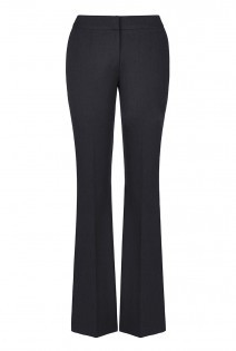 Tall Premium Bootcut Zip Pocket Trousers At - length: standard; pattern: plain; waist: mid/regular rise; predominant colour: black; occasions: work; fit: bootcut; pattern type: fabric; texture group: other - light to midweight; style: standard; season: a/w 2015
