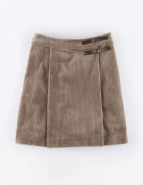 Jumbo Cord Kilt Driftwood Women, Driftwood - length: mini; pattern: plain; fit: loose/voluminous; waist: mid/regular rise; predominant colour: taupe; style: mini skirt; texture group: corduroy; pattern type: fabric; occasions: creative work; season: a/w 2015; wardrobe: basic