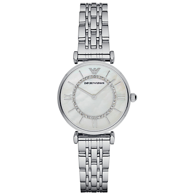 Women's Stainless Steel Bracelet Strap Watch - predominant colour: silver; occasions: casual, work, creative work; style: classic; size: standard; material: chain/metal; finish: metallic; pattern: plain; season: a/w 2015