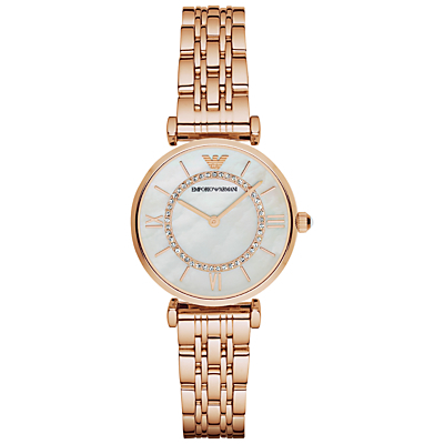 Women's Stainless Steel Bracelet Strap Watch - predominant colour: gold; occasions: casual, work, creative work; style: metal bracelet; size: standard; material: chain/metal; finish: metallic; pattern: plain; season: a/w 2015