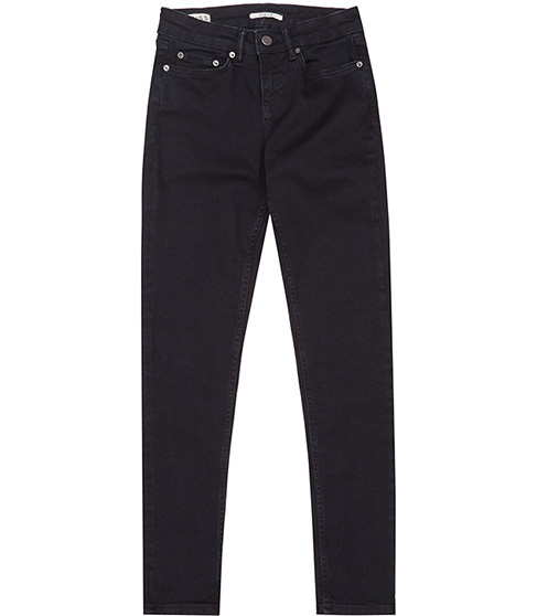 Stevie Low Rise Skinny Jeans - style: skinny leg; length: standard; pattern: plain; pocket detail: traditional 5 pocket; waist: mid/regular rise; predominant colour: navy; occasions: casual; fibres: cotton - stretch; texture group: denim; pattern type: fabric; season: a/w 2015; wardrobe: basic