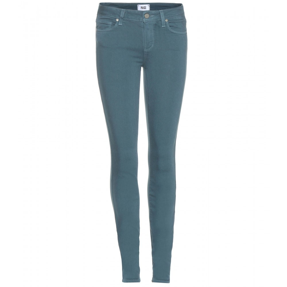 Verdugo Skinny Jeans - style: skinny leg; length: standard; pattern: plain; waist: high rise; pocket detail: traditional 5 pocket; predominant colour: denim; occasions: casual; fibres: cotton - stretch; texture group: denim; pattern type: fabric; season: a/w 2015; wardrobe: basic
