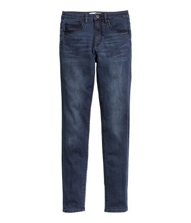 Jeans Slim Fit - length: standard; pattern: plain; pocket detail: traditional 5 pocket; style: slim leg; waist: mid/regular rise; predominant colour: denim; occasions: casual, evening; fibres: cotton - stretch; texture group: denim; season: a/w 2015