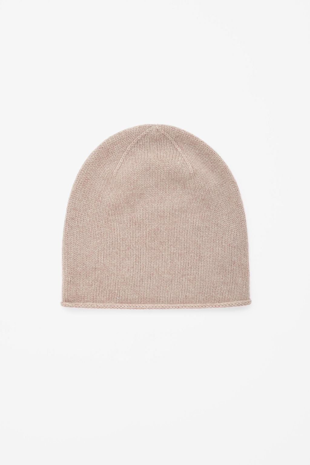 Cashmere Hat - predominant colour: stone; occasions: casual; style: beanie; size: standard; pattern: plain; material: cashmere; season: a/w 2015; wardrobe: investment