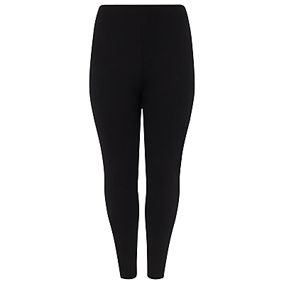 Eleanor Ponte Jeggings, Black - length: standard; pattern: plain; waist detail: elasticated waist; waist: mid/regular rise; predominant colour: black; occasions: casual; fit: skinny/tight leg; pattern type: fabric; texture group: jersey - stretchy/drapey; style: standard; season: a/w 2015