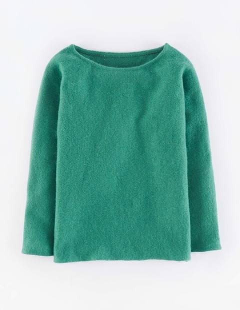 Chic Mohair Mix Jumper Juniper Women, Juniper - neckline: round neck; pattern: plain; style: standard; predominant colour: emerald green; occasions: casual; length: standard; fibres: nylon - mix; fit: standard fit; sleeve length: 3/4 length; sleeve style: standard; texture group: knits/crochet; pattern type: knitted - fine stitch; season: a/w 2015