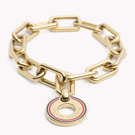 Bracelet - predominant colour: gold; occasions: evening, occasion; style: chain; size: standard; material: chain/metal; finish: metallic; embellishment: chain/metal; season: a/w 2015; wardrobe: event