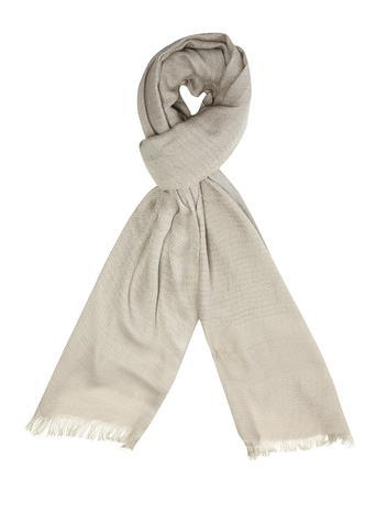 Womens Neutral Glitter Plain Scarf White - predominant colour: stone; occasions: casual, creative work; type of pattern: standard; style: regular; size: standard; material: fabric; pattern: plain; season: a/w 2015