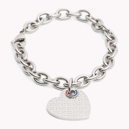 Bracelet - predominant colour: silver; occasions: evening, creative work; style: chain; size: standard; material: chain/metal; finish: metallic; season: a/w 2015; wardrobe: basic