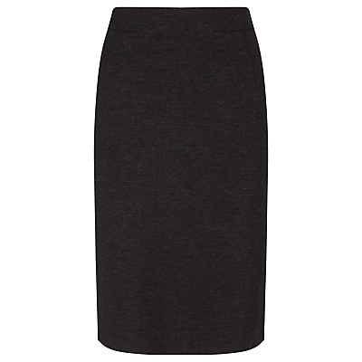 Taylor Slim Pencil Skirt - pattern: plain; style: pencil; fit: tailored/fitted; waist: high rise; predominant colour: navy; occasions: work; length: on the knee; fibres: polyester/polyamide - 100%; pattern type: fabric; texture group: woven light midweight; season: a/w 2015; wardrobe: basic
