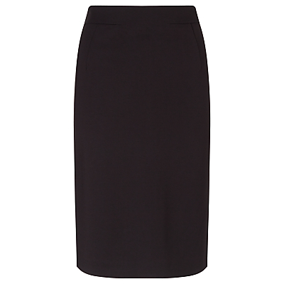 Taylor Slim Pencil Skirt - pattern: plain; style: pencil; fit: tailored/fitted; waist: high rise; predominant colour: black; occasions: work; length: on the knee; fibres: polyester/polyamide - 100%; pattern type: fabric; texture group: woven light midweight; season: a/w 2015; wardrobe: basic