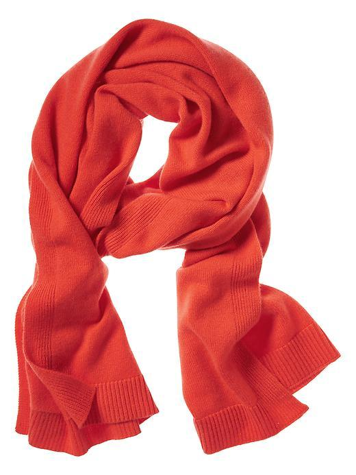 Todd & Duncan Plaited Cashmere Scarf Orange - predominant colour: bright orange; occasions: casual, creative work; style: regular; size: standard; pattern: plain; material: cashmere; season: a/w 2015; wardrobe: highlight