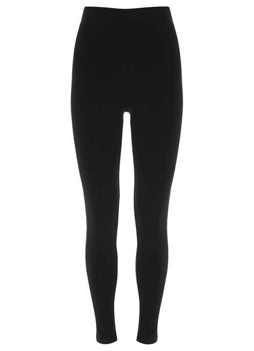 Black Legging - length: standard; pattern: plain; style: leggings; waist: mid/regular rise; predominant colour: black; occasions: casual, creative work; texture group: jersey - clingy; fit: skinny/tight leg; season: a/w 2015; wardrobe: basic
