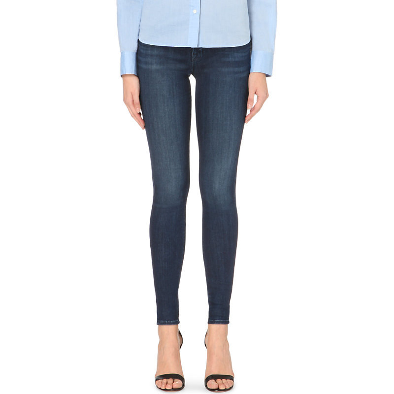 620 Super Skinny Mid Rise Jeans, Women's, Fix - style: skinny leg; length: standard; pattern: plain; pocket detail: traditional 5 pocket; waist: mid/regular rise; predominant colour: navy; occasions: casual; fibres: cotton - stretch; texture group: denim; pattern type: fabric; season: a/w 2015; wardrobe: basic