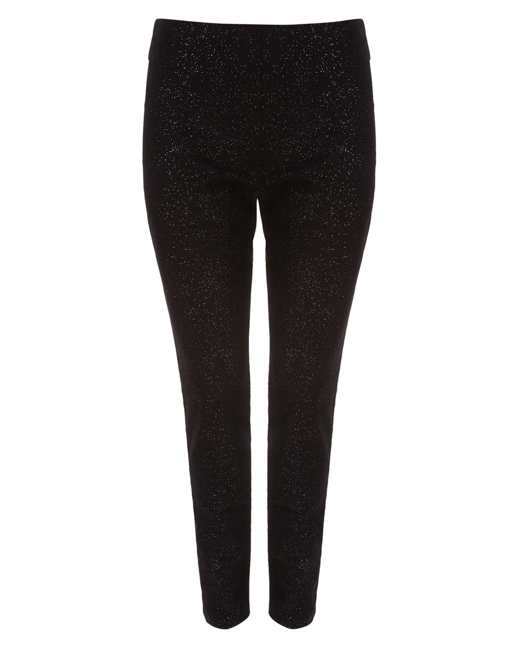 Amina Sparkle Jegging - length: standard; pattern: plain; style: jeggings; waist: mid/regular rise; predominant colour: black; occasions: casual, creative work; fibres: cotton - stretch; texture group: denim; pattern type: fabric; season: a/w 2015