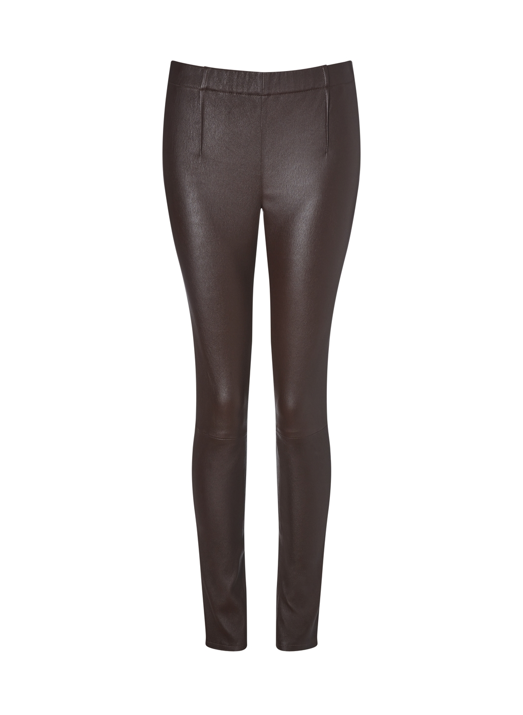 Womenswear Liv Leather Leggings - length: standard; pattern: plain; style: leggings; waist: mid/regular rise; predominant colour: black; occasions: evening, creative work; fibres: leather - 100%; texture group: leather; fit: skinny/tight leg; pattern type: fabric; season: a/w 2015