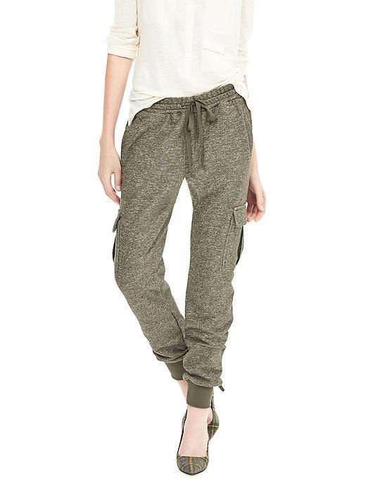 Heritage Cargo Jogger Olive - length: standard; pattern: plain; style: tracksuit pants; waist detail: belted waist/tie at waist/drawstring; waist: mid/regular rise; predominant colour: khaki; occasions: casual, creative work; fibres: cotton - 100%; fit: tapered; pattern type: fabric; texture group: other - light to midweight; season: a/w 2015