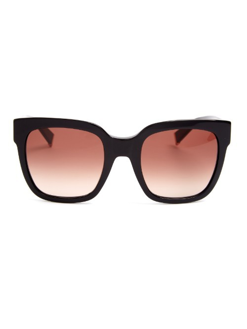 Modern Sunglasses - predominant colour: black; occasions: casual, holiday; style: square; size: standard; material: plastic/rubber; pattern: plain; finish: plain; season: a/w 2015; wardrobe: basic