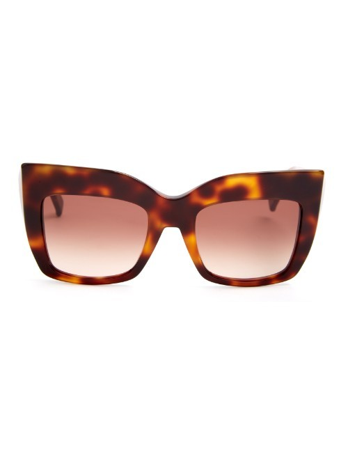 Gem Sunglasses - secondary colour: chocolate brown; predominant colour: tan; occasions: casual, holiday; style: novelty; size: standard; material: plastic/rubber; pattern: tortoiseshell; finish: plain; season: a/w 2015; wardrobe: highlight
