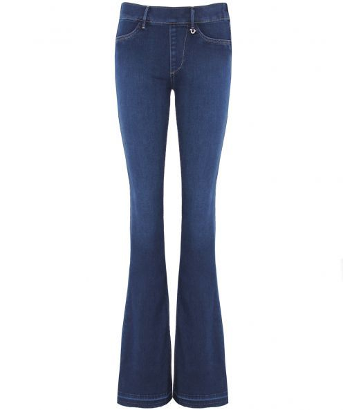 Runway Flare Jeans - style: flares; length: standard; pattern: plain; waist: mid/regular rise; predominant colour: denim; occasions: casual, creative work; fibres: cotton - stretch; texture group: denim; pattern type: fabric; season: a/w 2015; wardrobe: basic