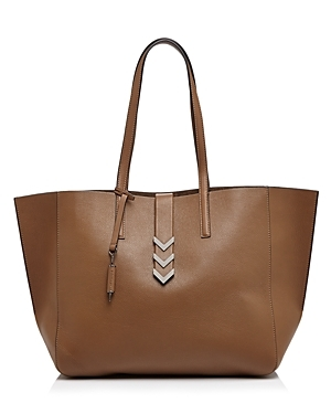 Aggie Tote - predominant colour: tan; occasions: casual, creative work; type of pattern: standard; style: tote; length: handle; size: oversized; material: leather; pattern: plain; finish: plain; season: a/w 2015; wardrobe: highlight