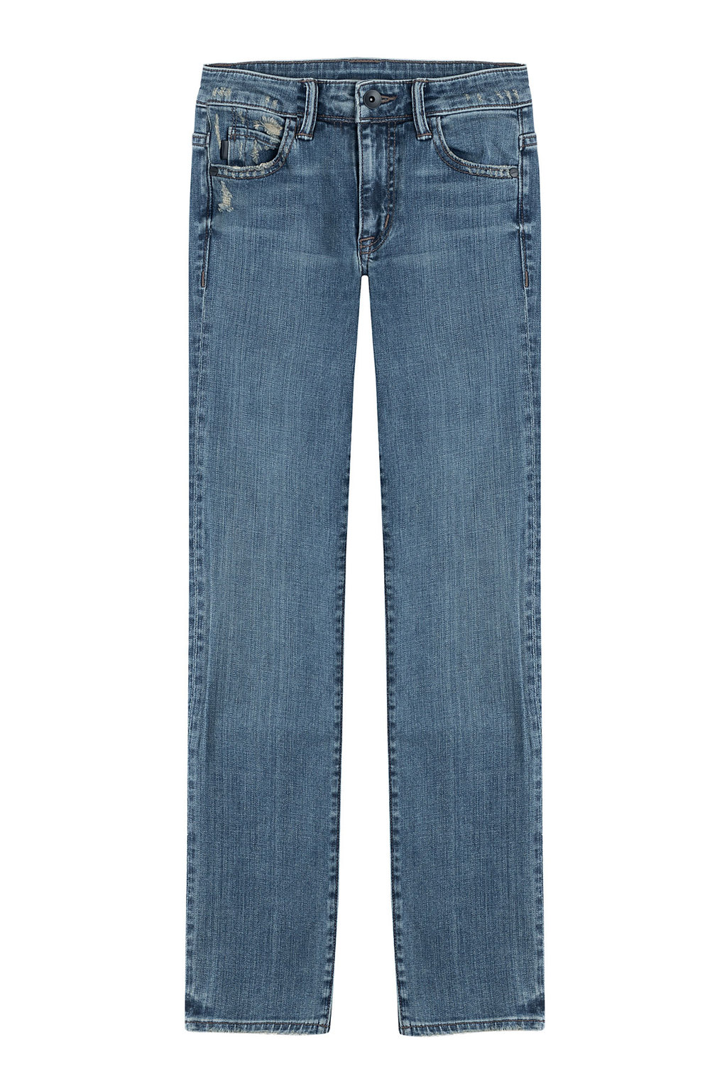 Skinny Jeans Blue - pattern: plain; pocket detail: traditional 5 pocket; style: slim leg; waist: mid/regular rise; predominant colour: denim; occasions: casual, creative work; length: ankle length; fibres: cotton - stretch; texture group: denim; pattern type: fabric; season: a/w 2015