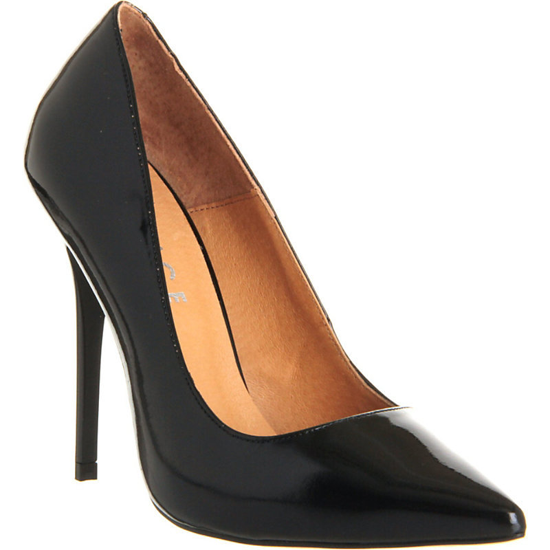 On Tops Patent Leather Courts, Women's, Eur 38 / 5 Uk Women, Black Patent - predominant colour: black; occasions: evening, occasion; material: leather; heel: stiletto; toe: pointed toe; style: courts; finish: patent; pattern: plain; heel height: very high; season: a/w 2015
